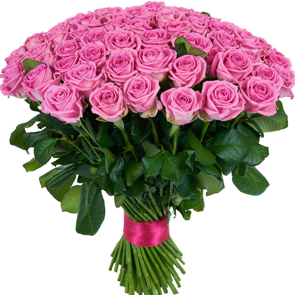 Розовые розы - Vie De Flamme